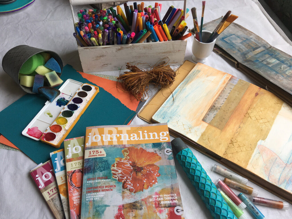 art journaling huntsville
