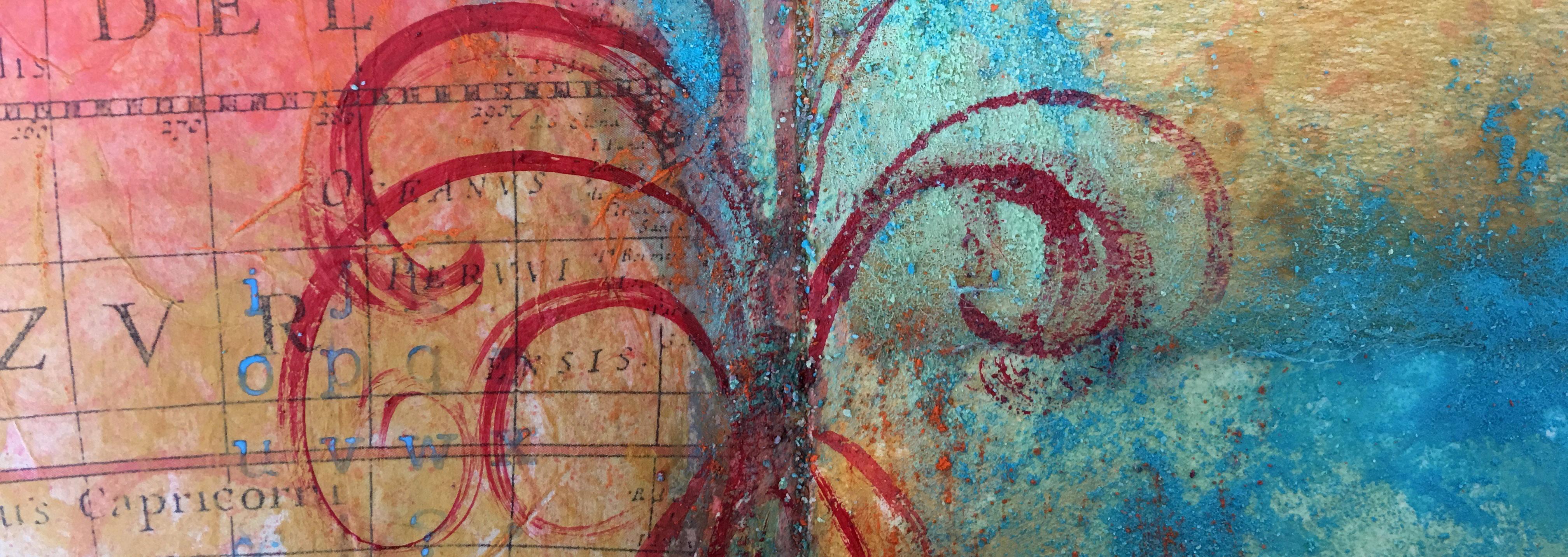 art journaling in studio 127