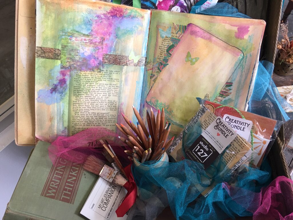 Art Journaling To Go