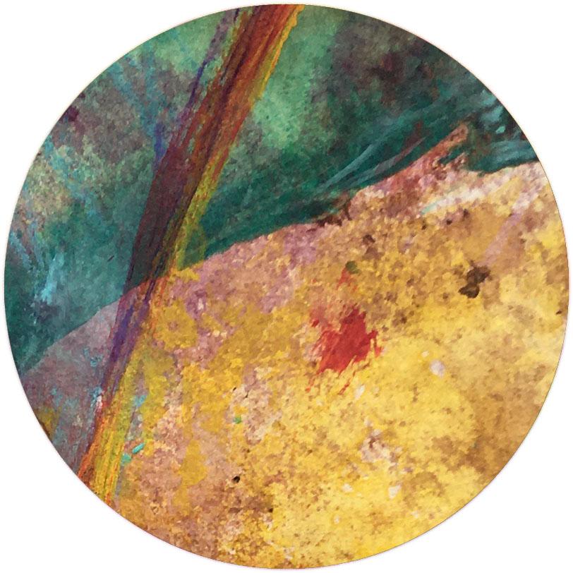 Detail from art journal