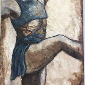 Ballet Study in Blue